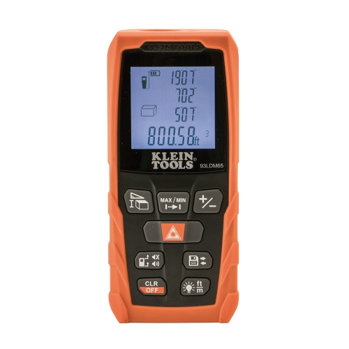 Klein 93LDM65 Laser Distance Measurer 65 FT