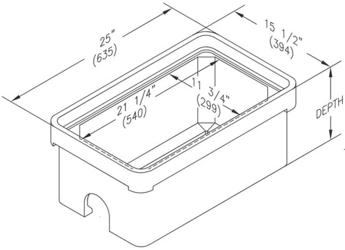 PG1324BA Quazite Box 13 X 24 - ANSI Tier 22