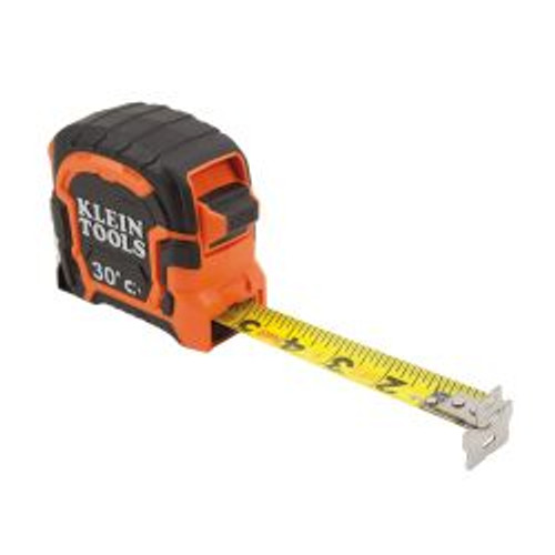 Klein 86230 30ft Double Hook Magnetic Tape Measure
