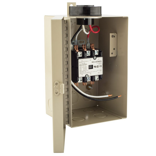 Tork5403A 3 Pole Contactor w/120V PC 40A LED 3HP