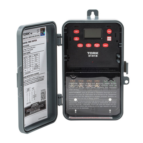 Tork E101B 24 Hour SPST Control