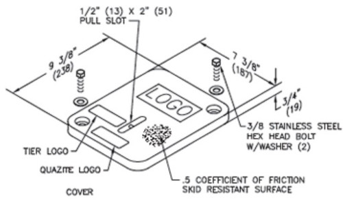 6 x 8 PC Quazite Cover