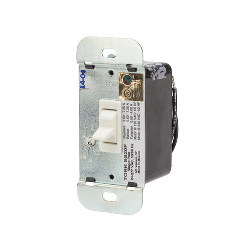 Tork SS20F In-Wall Solid State Timer Single Pole