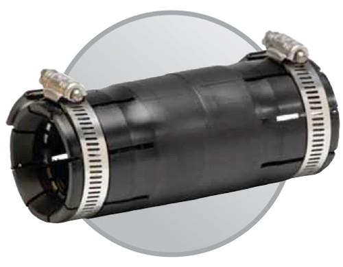 "1 1/2"" Shur-Lock II HDPE Coupling"