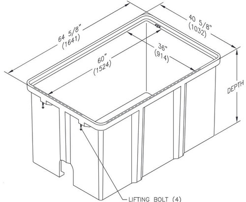 PG3660BA Quazite Box 36 X 60 - ANSI Tier 22