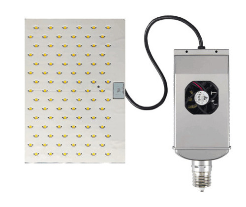 LED-8091M 320W, Outdoor/E39 Flat Panel Shoebox/Wall Pack LED Retrofit