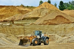 gravel and mining industry