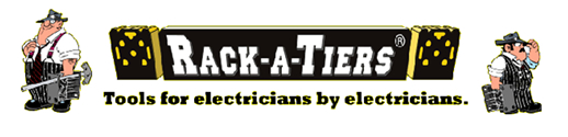 Rack-A-Tiers Electrician's Tools