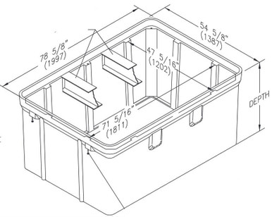 Quazite Box 48 X 72
