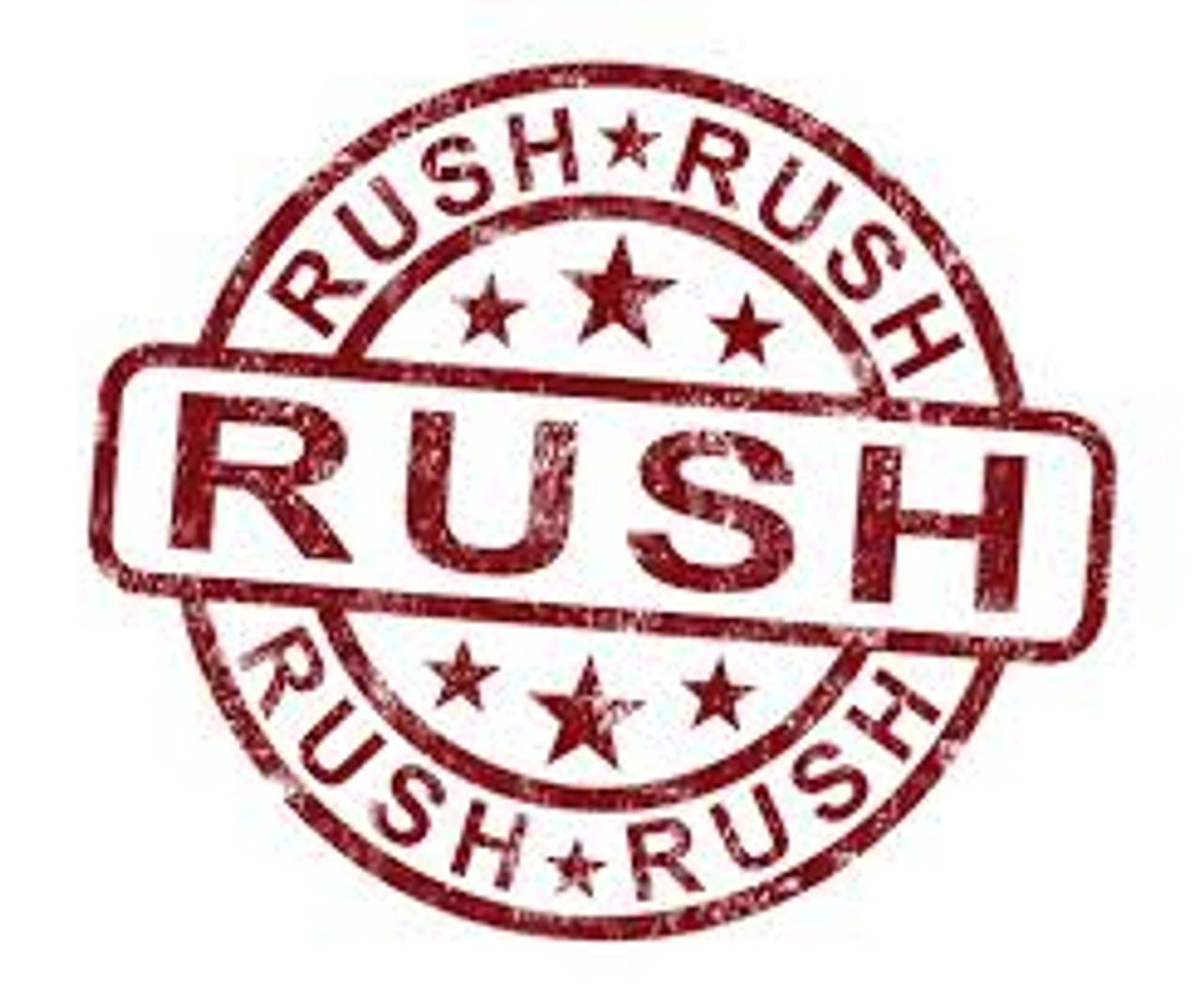 Rush Order (Same day shipping)