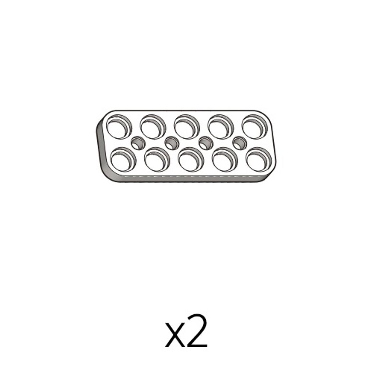 Plate (SPD-2b5(W)) 5pcs
