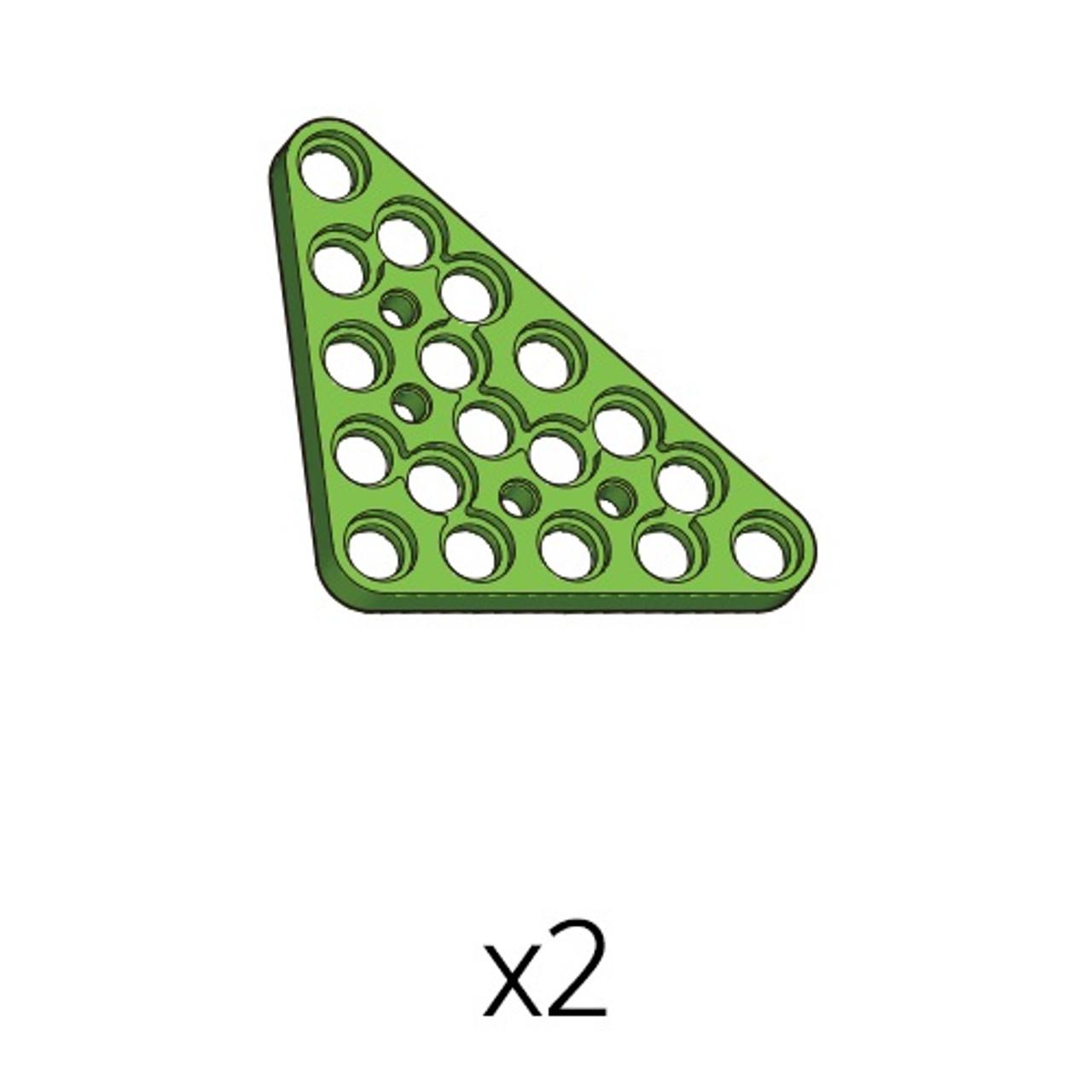 Plate-Triangle (PA-5b5(g)) 2pcs