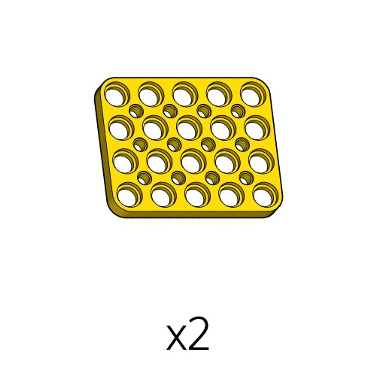 Plate (PD-4b5(y)) 2pcs