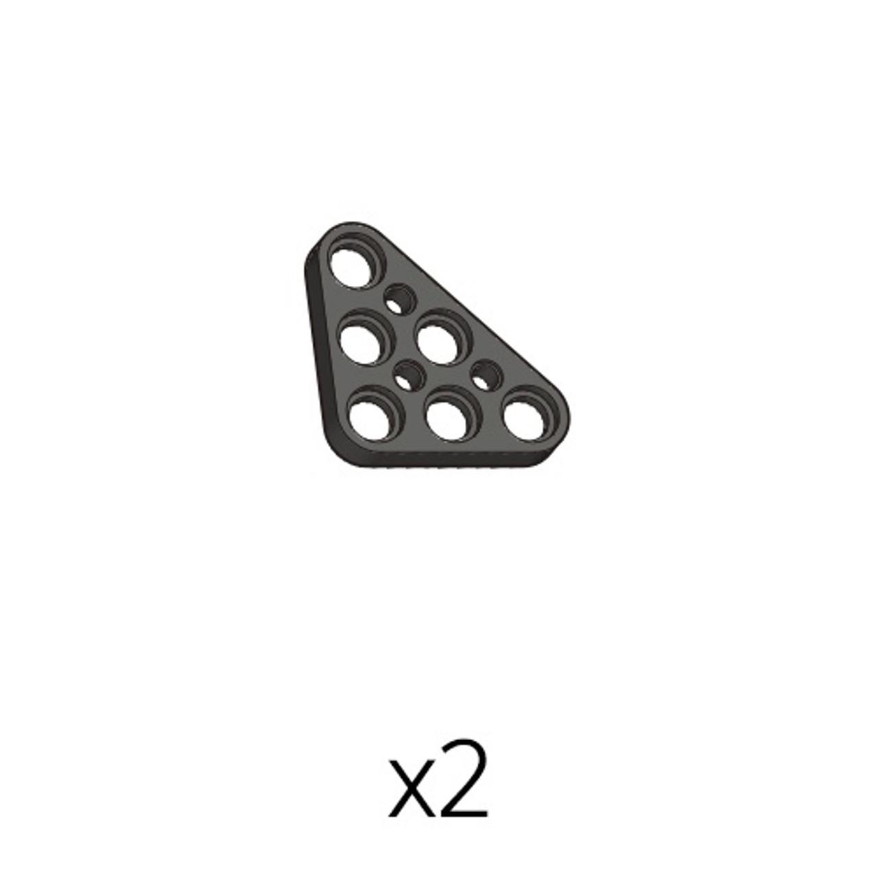 Plate-Triangle (PA-3b3(k)) 2pcs