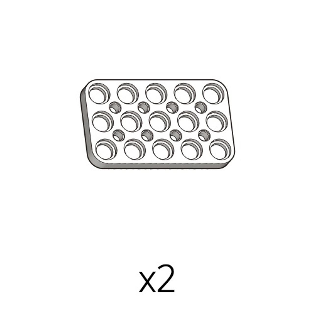 Plate (PD-3b5(w)) 2pcs