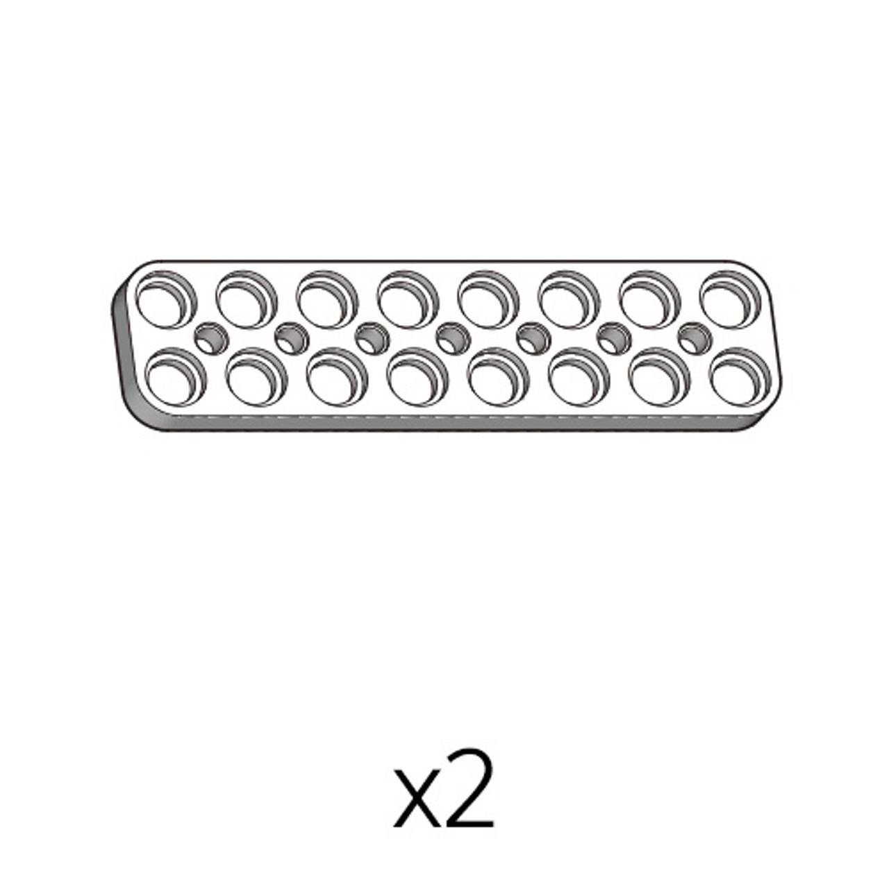 Plate (PD-2b8(w)) 2pcs