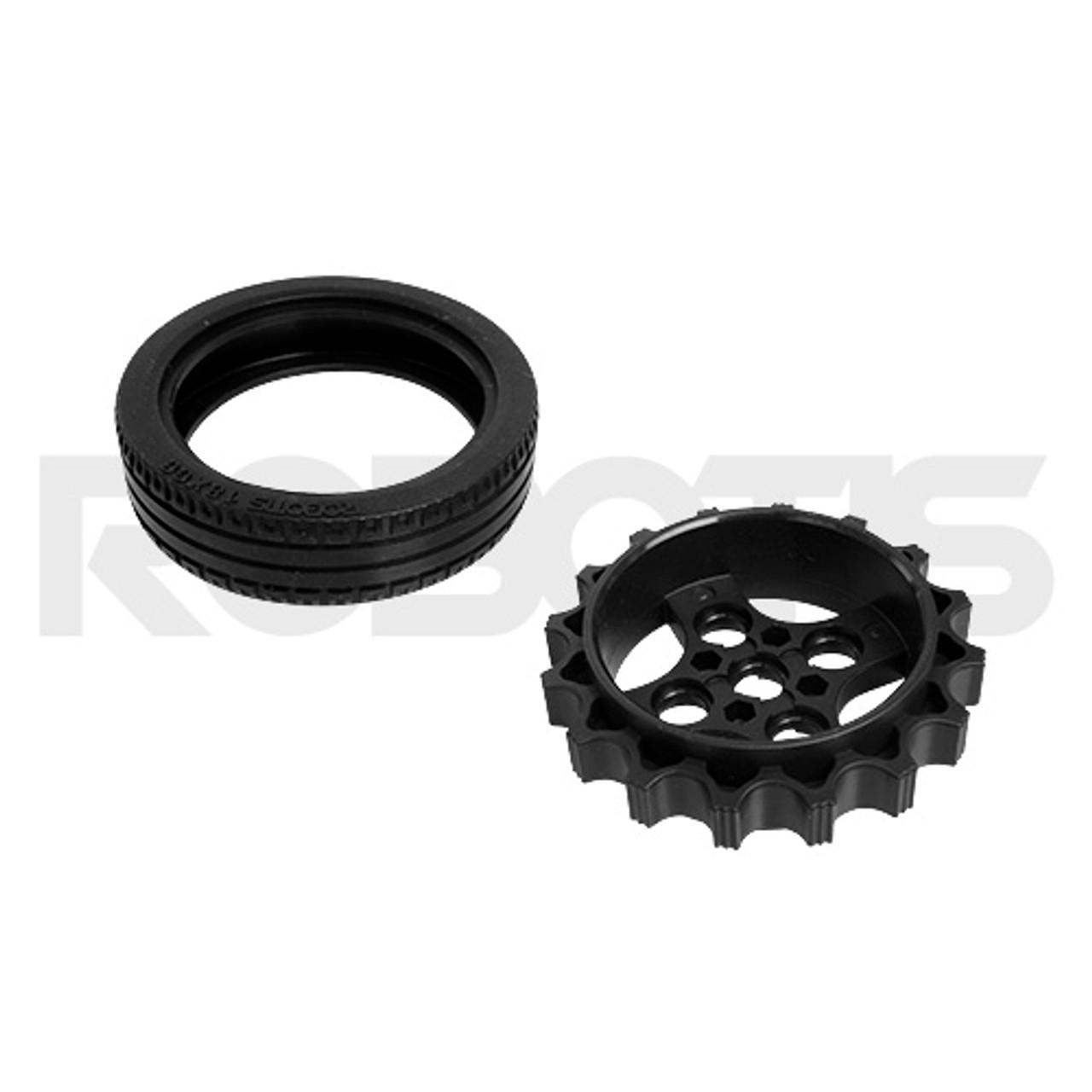 TB3 Wheel Tire Set-ISW-01 (2ea)