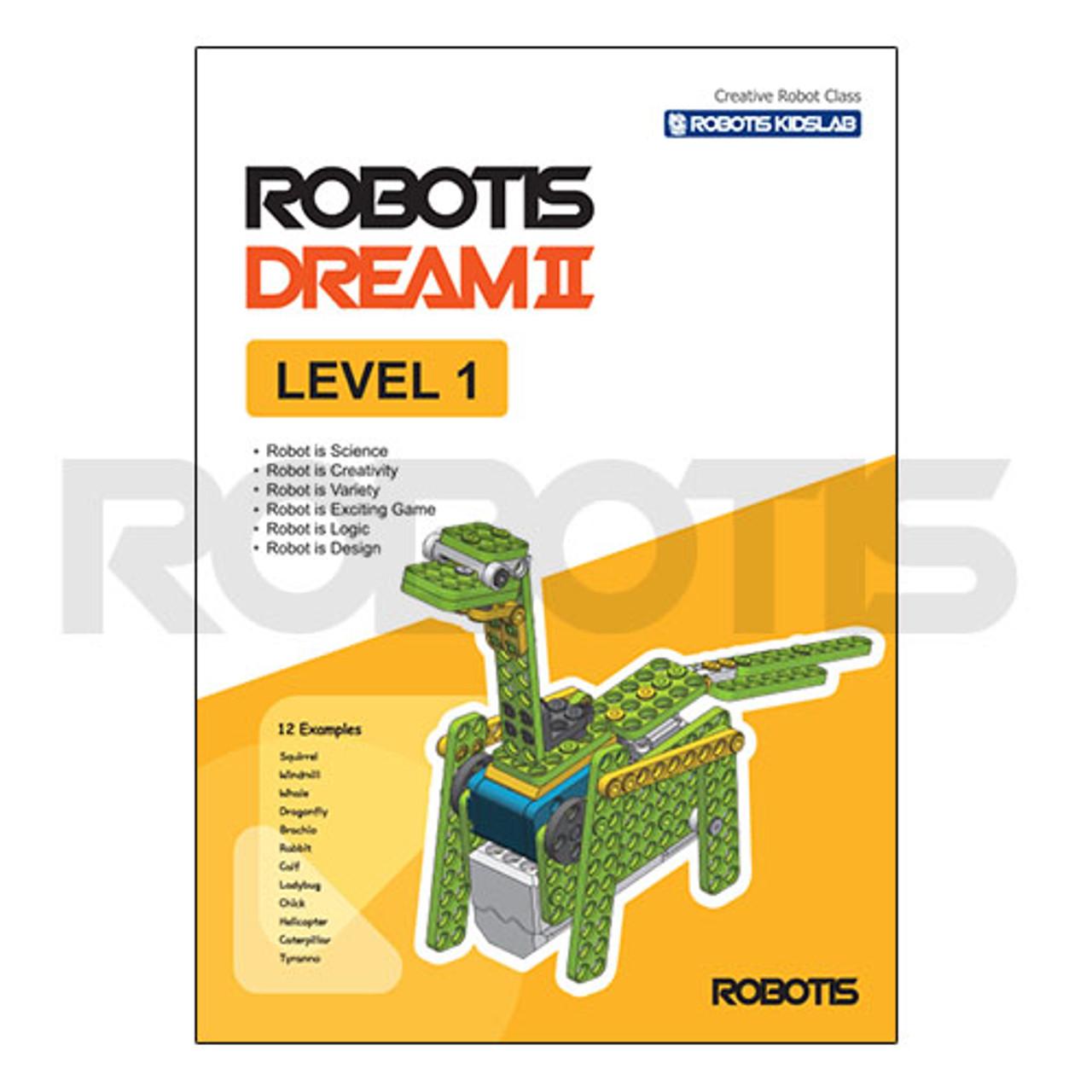 ROBOTIS DREAM II Level 1 Workbook [EN]
