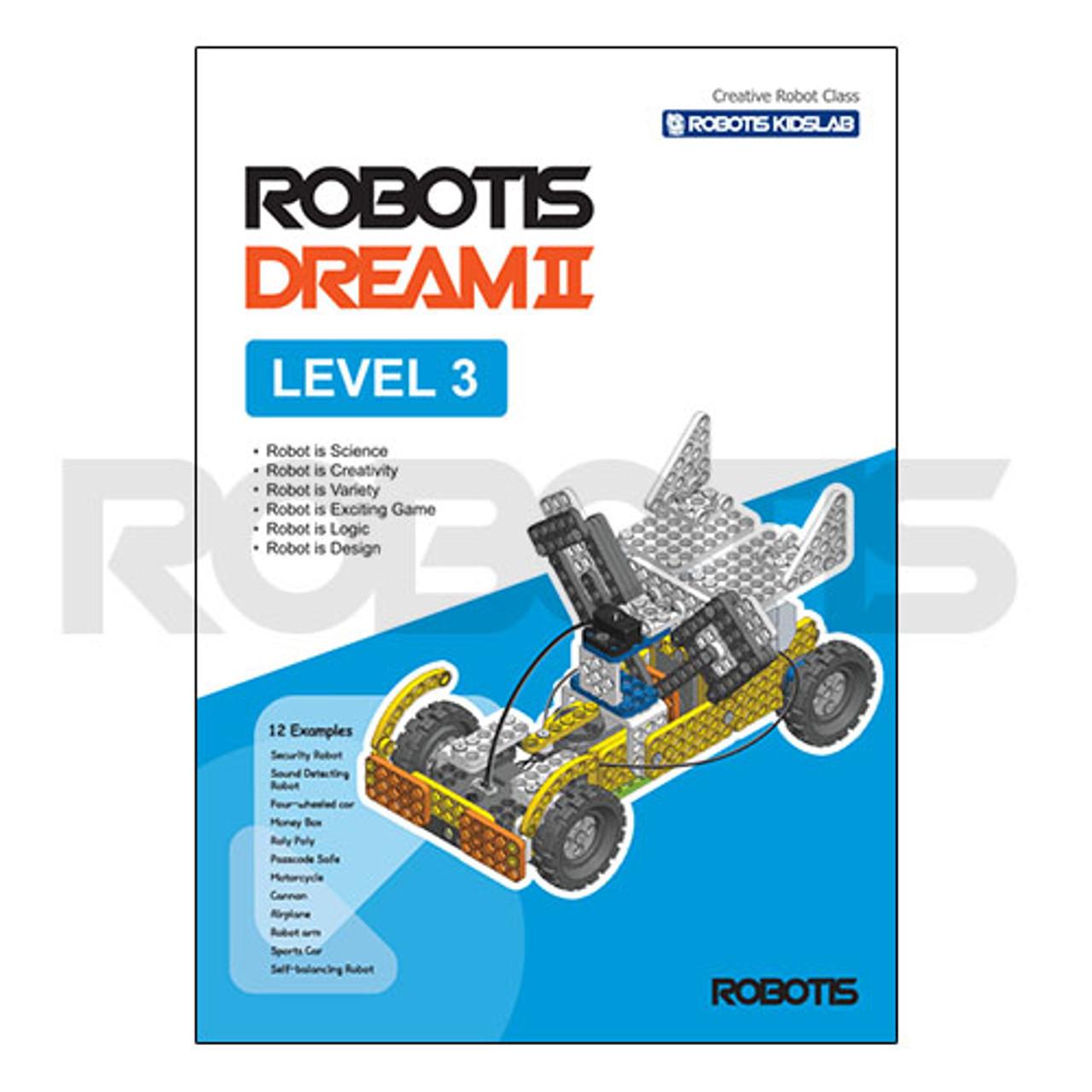 ROBOTIS DREAM II Level 3 Workbook [EN]