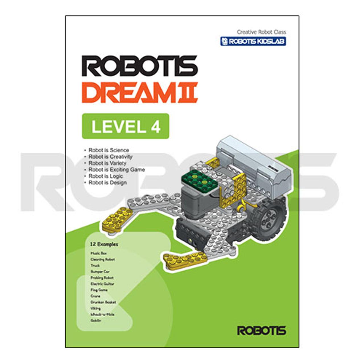 ROBOTIS DREAM II Level 4 Workbook [EN]
