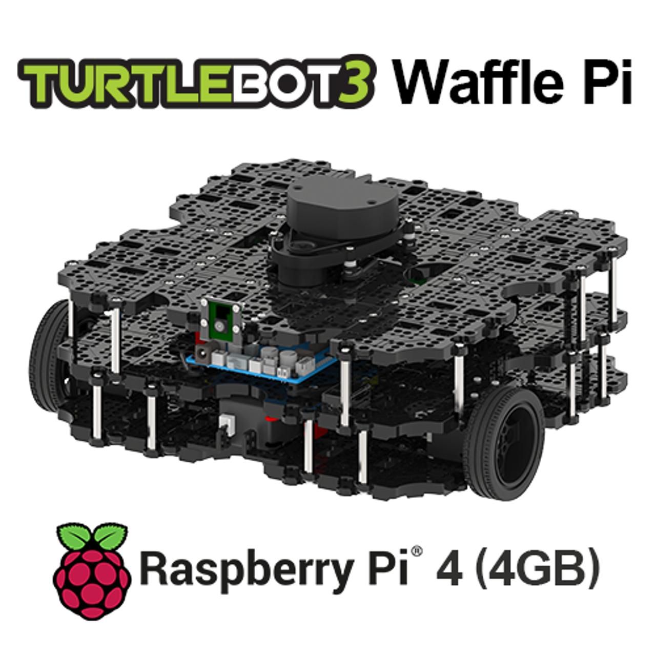 TurtleBot 3 Waffle Pi RPi4 4GB [US]