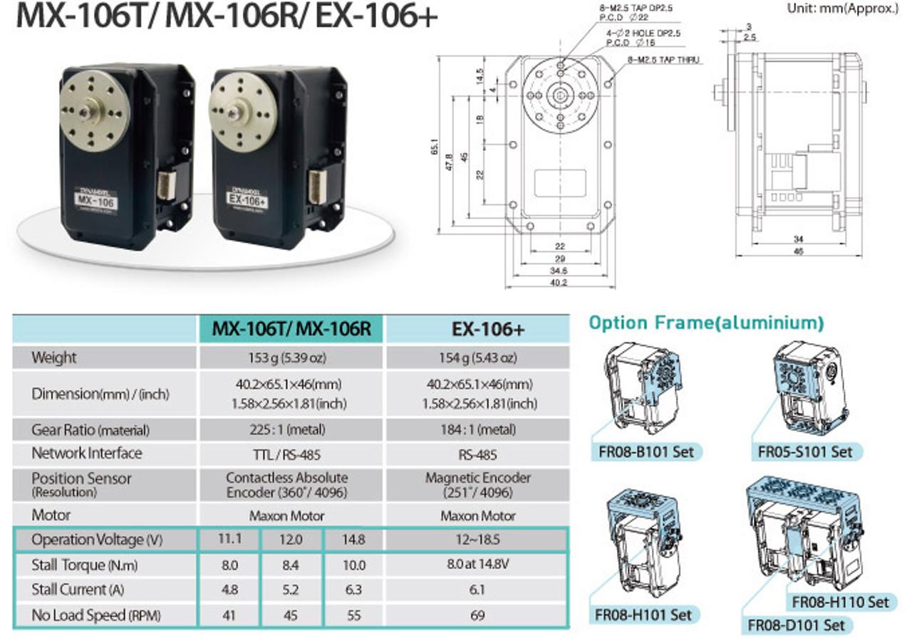 DYNAMIXEL MX-106T