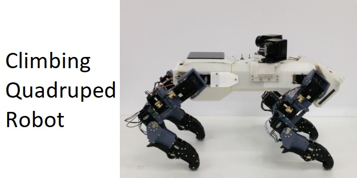 Quadruped Robots IROS - DYNAMIXEL Showcase
