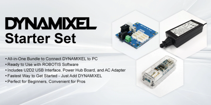 DYNAMIXEL Starter Set & Price Changes