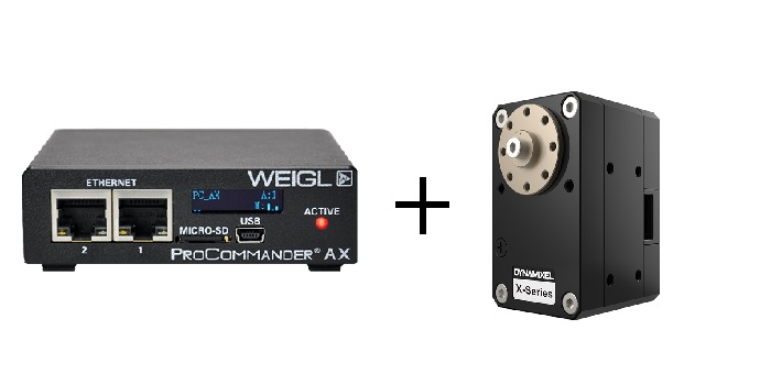 Weigl Controls + DYNAMIXEL Quick Start Announcement