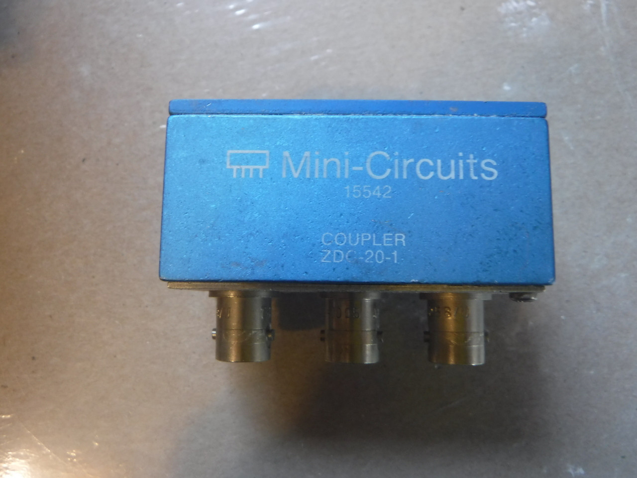 Mini Circuits ZDC-20-1 Directional Coupler , BNC 25-400MHz