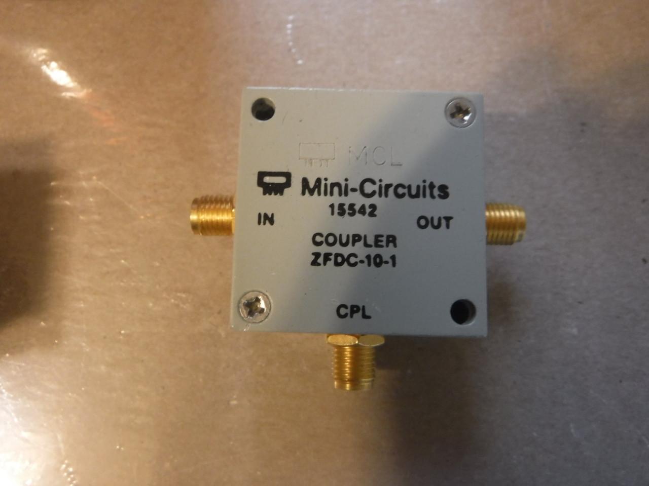 Mini Circuits ZFDC-10-1 Directional Coupler SMA 1-500MHz