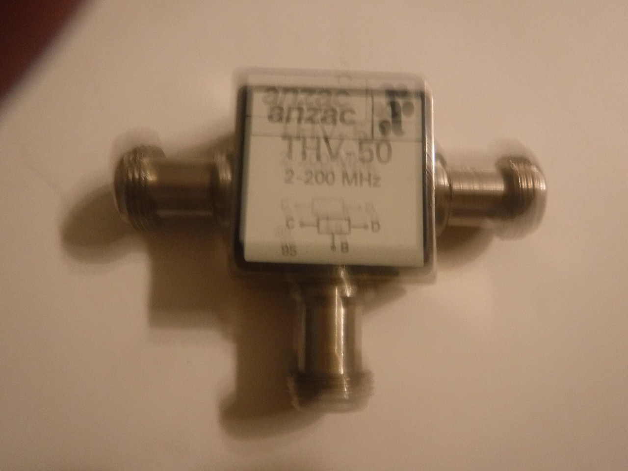 ANZAC THV 50 Power Divider N Type 2 200MHz