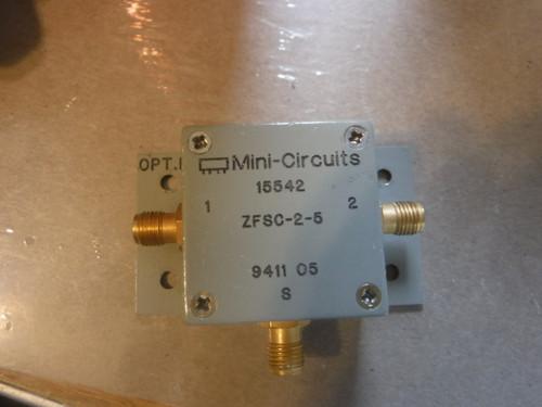 Mini Circuits ZA3PD-1 5 Power Divider SMA 3-Way 750-1500MHz