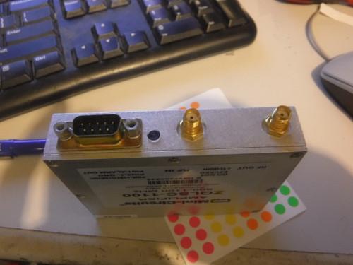 Mini Circuits ZQLSC-1100 0 6-1 1GHz LNA