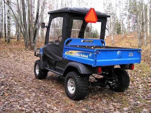 New Holland Rustler 125 Cab Enclosure