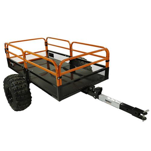 Steel ATV/UTV Utility Trailer 1500-lb Capacity, 15 cu ft