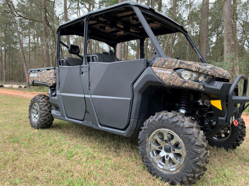 2017+ Can Am Defender MAX Front & Rear Aluminium Suicide Doors