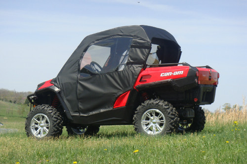 Can‐Am Commander Doors and Rear Window