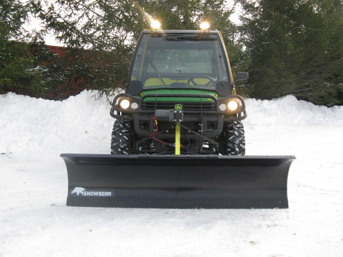 "72 Inch UTV Plow for a 2"" front hitch"