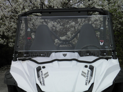 Yamaha Wolverine and R-Spec One Piece Lexan Windshield