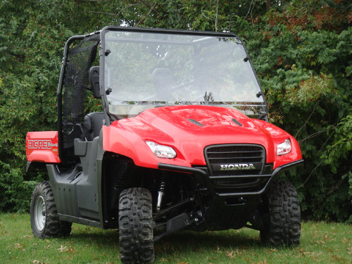 Honda Big Red Lexan Windshield