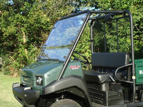 2009+ Kawasaki Mule 4000 / 4010 Lexan Windshield