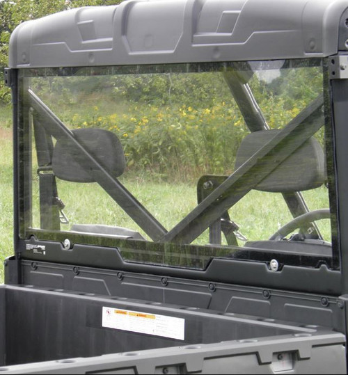 Polaris Ranger Full Size Models  Lexan Back with Loop Clamps