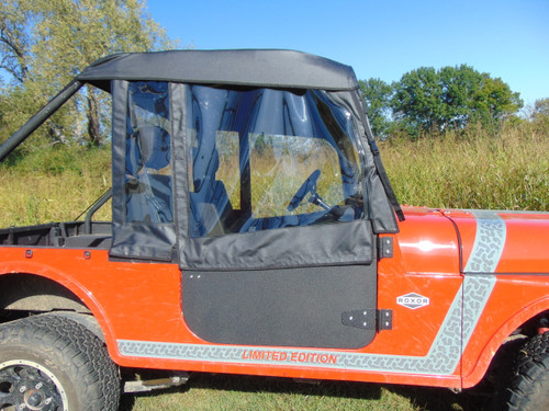 Mahindra Roxor Soft Half Doors with Lower Hard Doors