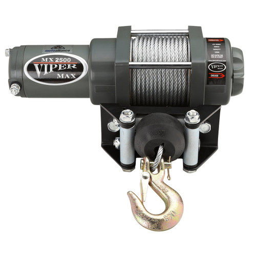 Viper Max  2500lb Winch with a steel cable