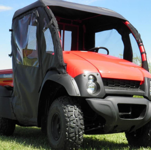 Kawasaki Mule 610 Doors & Rear Window