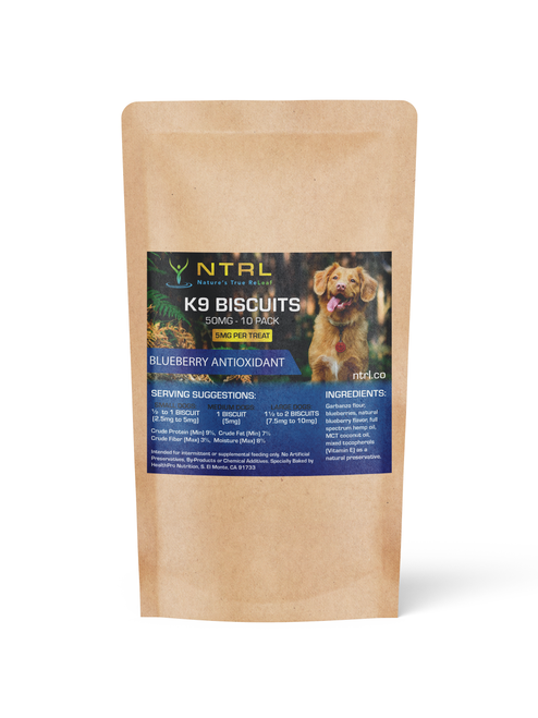 K-9 Biscuits Blueberry Antioxidant