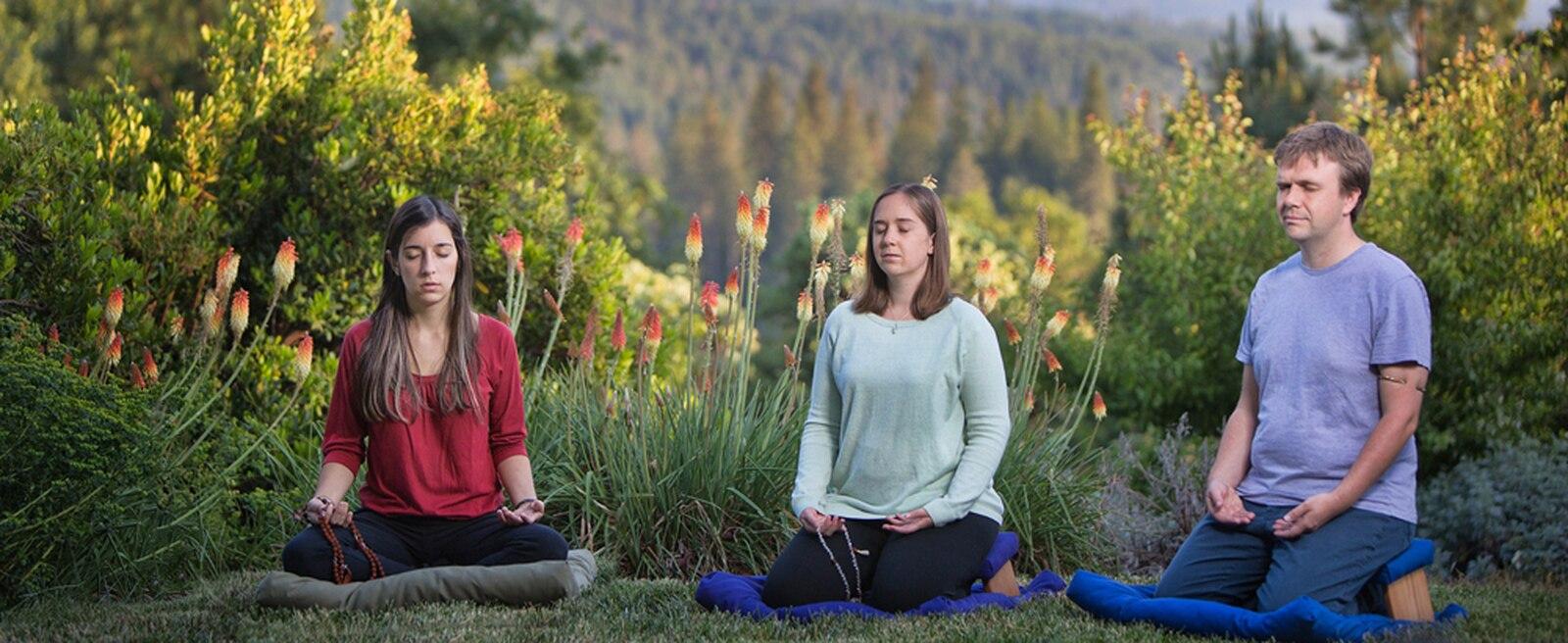 meditation on Zabuton