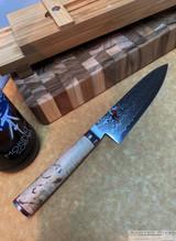 """Zwilling Miyabi Birchwood - 6"""" Chef's Knife - SG2 Gyutoh"""