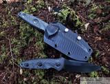 Microtech Socom Alpha Mini S/E - Signature Series - Black DLC 204P Blade - Carbon Fiber Handle